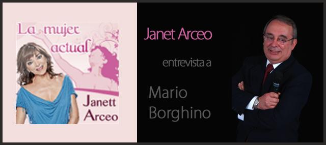 """Janett Arceo entrevista a Mario Borghino sobre """"El gran Salto de su vida"""""""