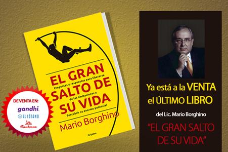 """Luis Cárdenas entrevista a Mario Borghino sobre """"El Gran Salto de su Vida"""""""